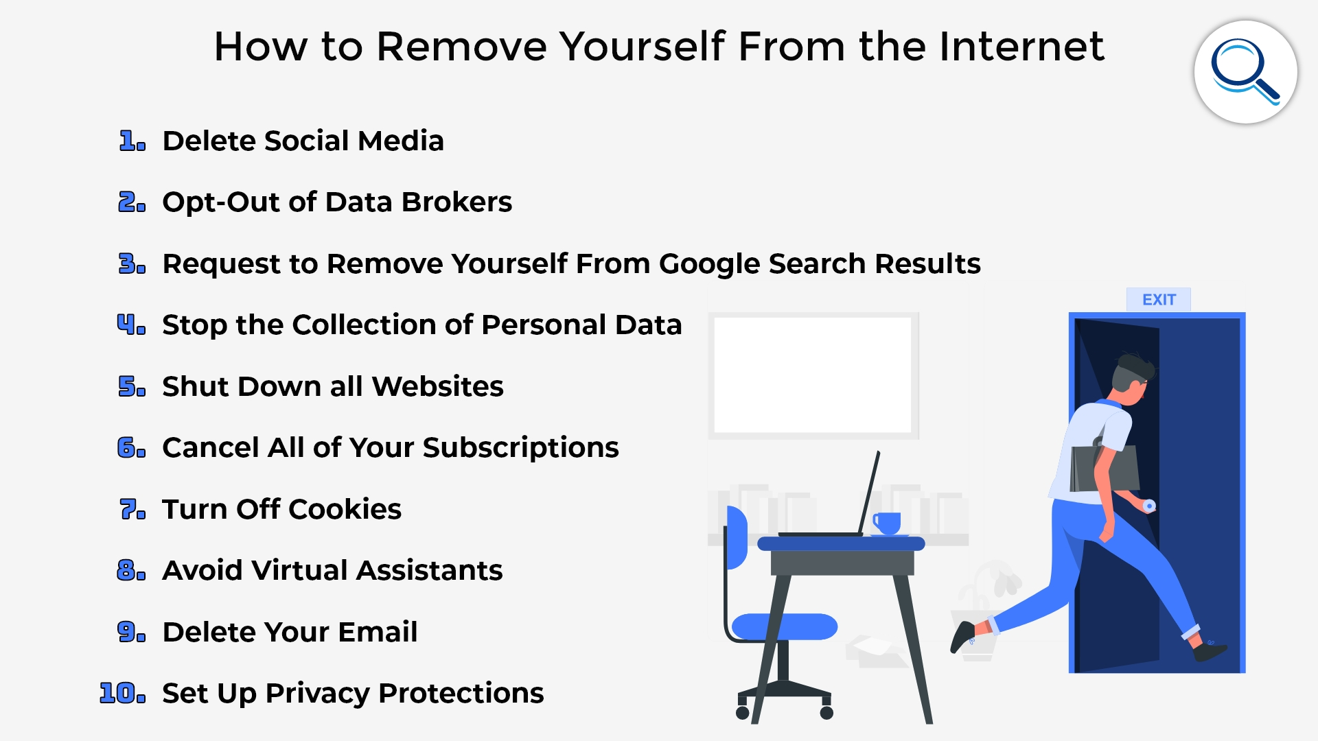 How To Remove Yourself From The Internet