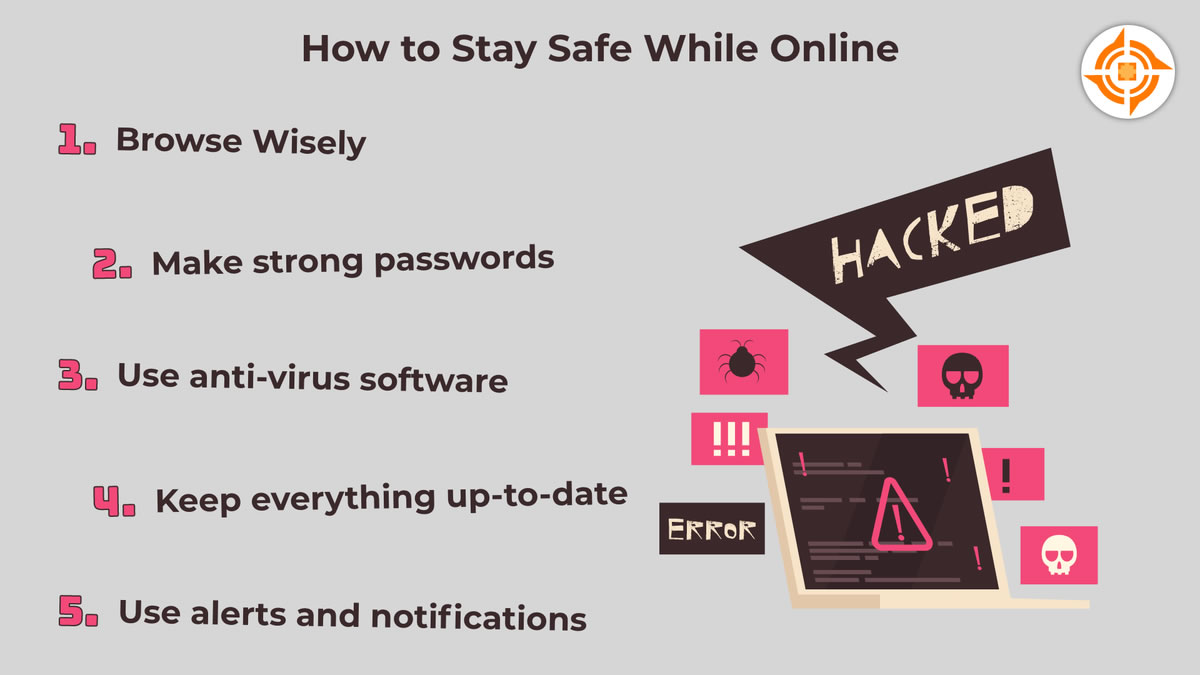How to Stay Safe While Online
