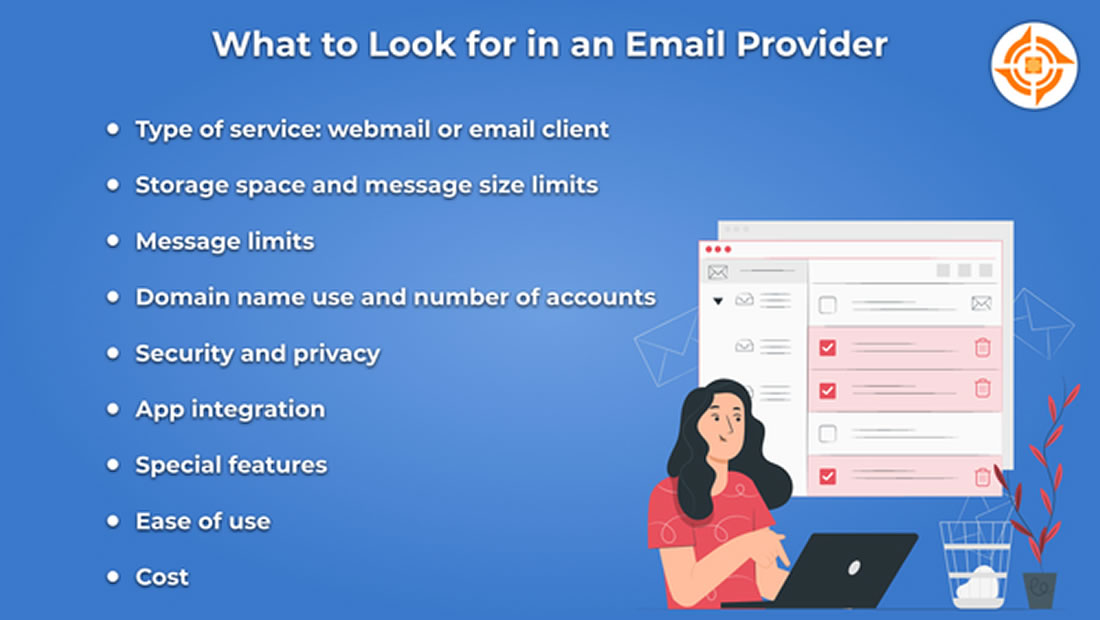 What to Look for in an Email Provider