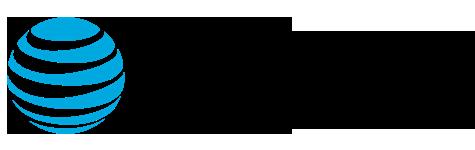 AT&T Fiber logo.