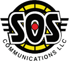 SOS Communications logo.