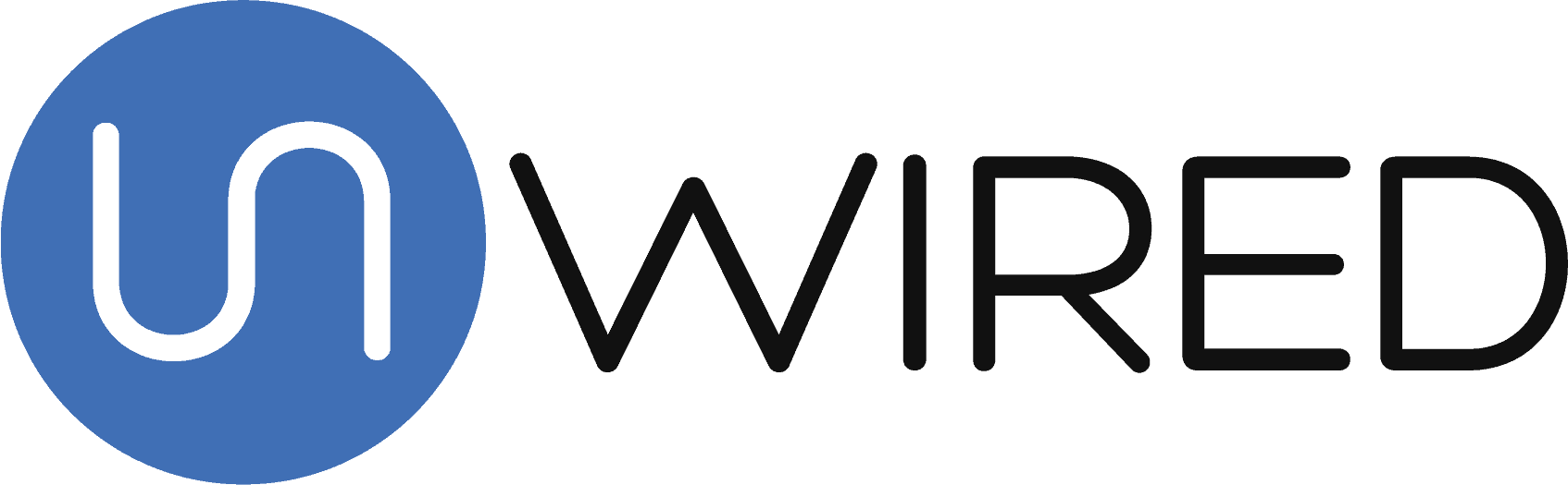 unWired Broadband logo.